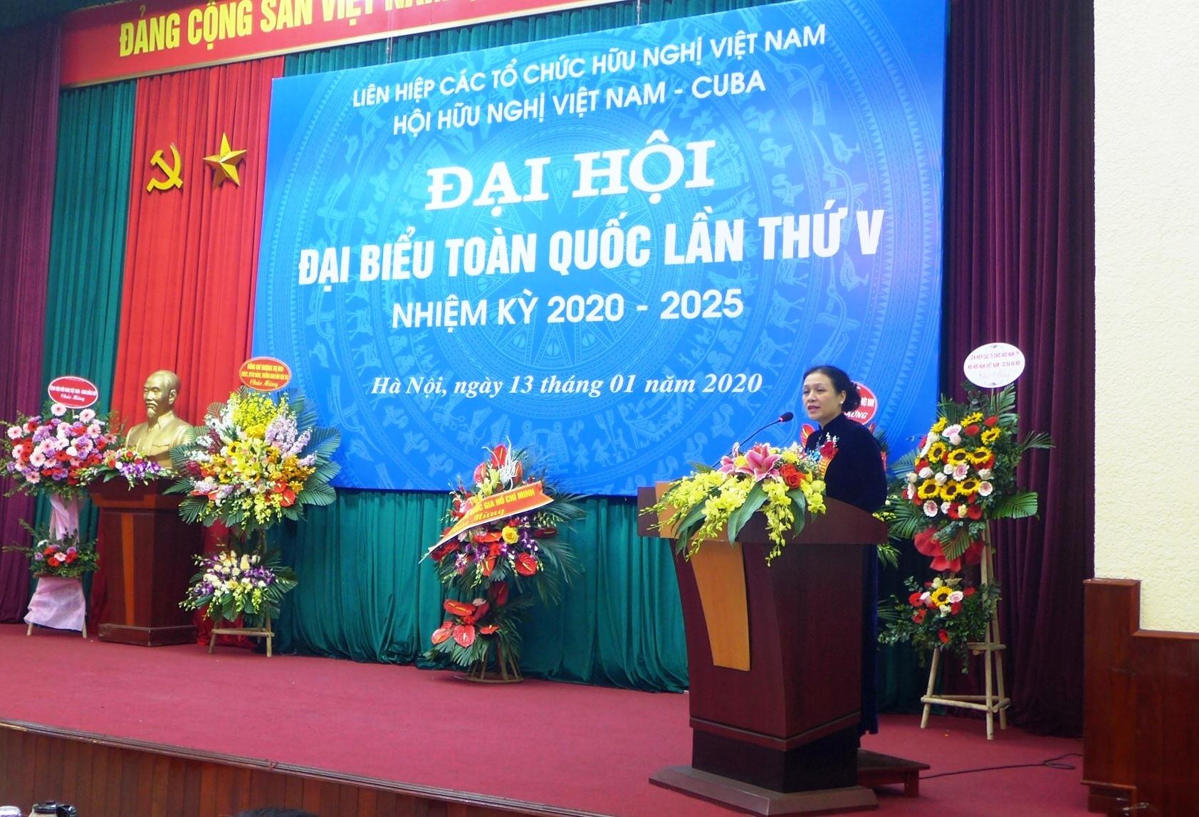 ba truong thi mai tai cu chu tich hoi huu nghi viet nam cuba nhiem ky 2020 2025