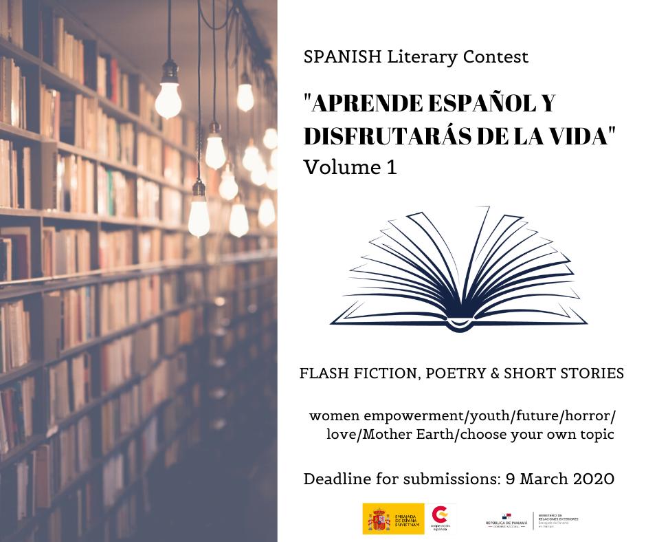 Đại sứ quán Tây Ban Nha, Panama cùng tổ chức Cuộc thi sáng tác văn học lần thứ I