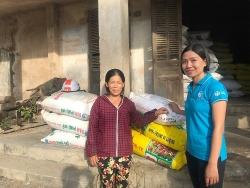 ADRA giúp 200 người dân Quảng Điền phục hồi sinh kế sau bão Damrey