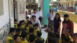 Costa giúp 500 em nhỏ Ea Nuôl, Đắk Lắk có trường mới
