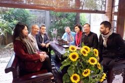 Hội hữu nghị Việt Nam - Palestine thành phố Hà Nội giao lưu hữu nghị tại Vĩnh Phúc