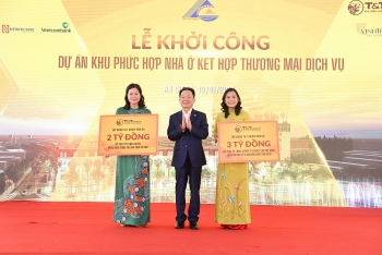 T&T Group khởi công khu phức hợp nhà ở - Thương mại dịch vụ tại trung tâm TP Long Xuyên