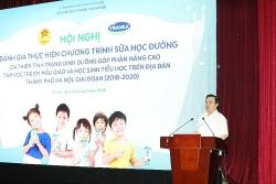 Hà Nội: Hơn 1 triệu trẻ mẫu giáo và học sinh tiểu học được thụ hưởng sữa học đường