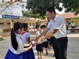 Gần 55.000 trẻ em tỉnh Trà Vinh chính thức được thụ hưởng chương trình sữa học đường