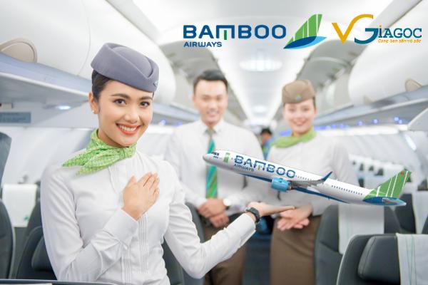 Săn vé máy bay giá rẻ với Bamboo Airways