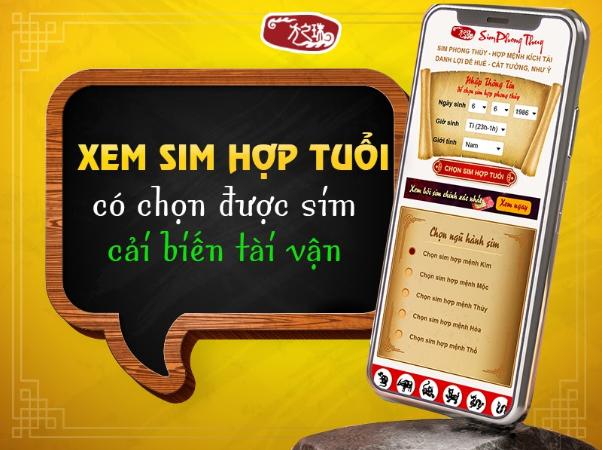 bo qua 4 dieu nay khong the xem sim phong thuy hop tuoi