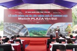 eurowindow holding khoi cong xay dung du an melinh plaza yen bai
