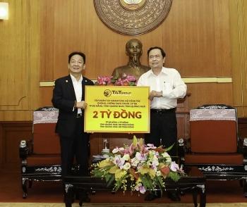 """""""Bầu Hiển"""" ủng hộ thêm 6 tỷ đồng cho cuộc chiến chống COVID-19 tại miền Trung"""