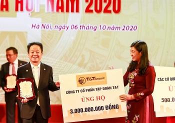 """""""Bầu Hiển"""" ủng hộ 5 tỷ đồng cho quỹ vì người nghèo thành phố Hà Nội"""