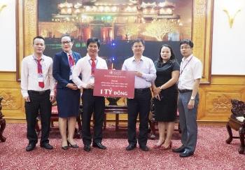 DOJI ủng hộ 1 tỷ đồng, san sẻ khó khăn người dân vùng lũ Thừa Thiên - Huế