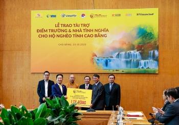 """""""Bầu Hiển"""" ủng hộ 5 tỷ đồng xây dựng điểm trường và nhà tình nghĩa cho người nghèo tỉnh Cao Bằng"""