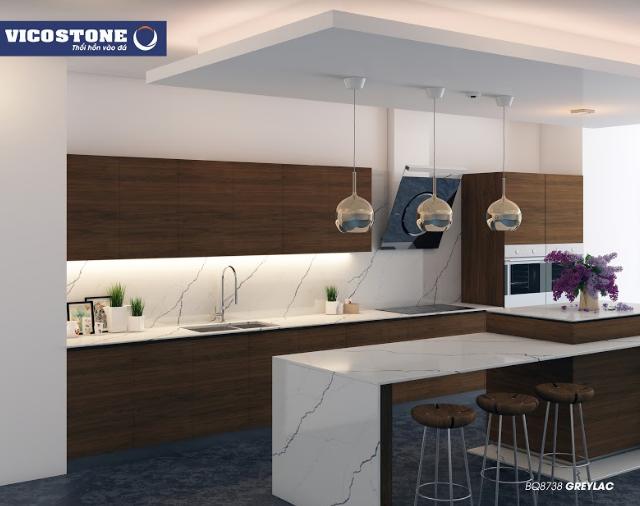 Bí kíp giúp không gian bếp nhỏ hẹp trở nên rộng rãi, thoáng đãng