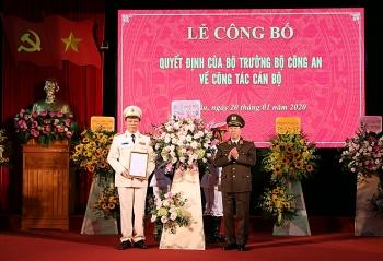 pho giam doc cong an cao bang ve lam giam doc cong an lai chau