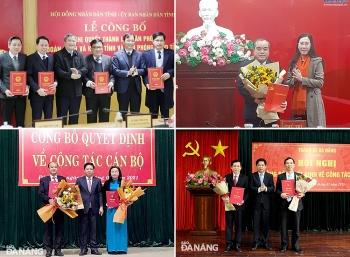 Bổ nhiệm nhân sự mới Đà Nẵng, Quảng Trị, Quảng Ngãi