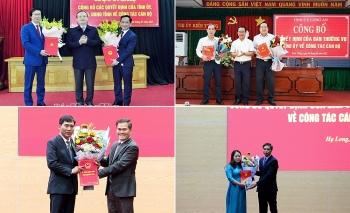 Bổ nhiệm nhân sự mới Hưng Yên, Quảng Ninh, Long An