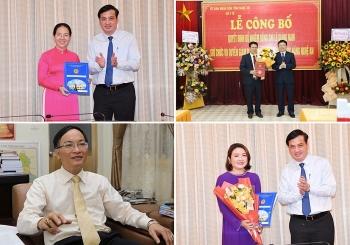 Hà Nội, TP.HCM, Nghệ An điều động, bổ nhiệm lãnh đạo mới