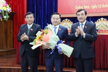 Quảng Nam bầu Bí thư Huyện ủy 51 tuổi làm Phó Chủ tịch HĐND tỉnh