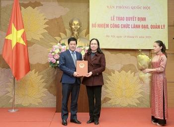 Bộ Giao thông, Văn phòng Quốc hội, BHXH Việt Nam bổ nhiệm lãnh đạo mới