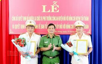 Bổ nhiệm nhân sự mới Hòa Bình, Quảng Ngãi, Bình Phước