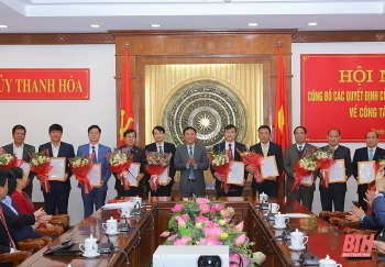 Bổ nhiệm lãnh đạo mới Hà Nội, Lạng Sơn, Thanh Hóa