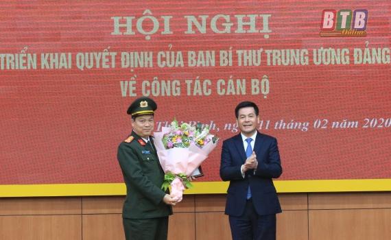 tin nhan su lanh dao moi tai thai binh cao bang