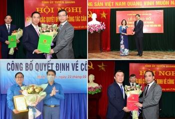 Tuyên Quang, Nghệ An, Bình Thuận bổ nhiệm lãnh đạo mới