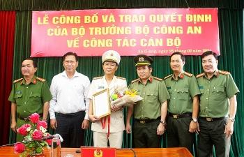 An Giang có tân Phó Giám đốc Công an tỉnh