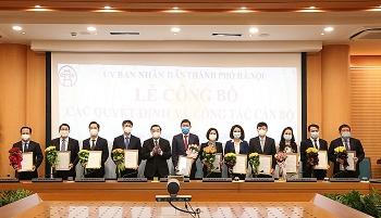 Hà Nội và TP.HCM bổ nhiệm hàng loạt nhân sự, lãnh đạo mới