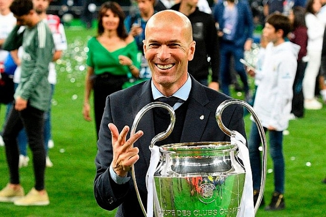 diem tin the thao 1232019 zidane tro lai dan dat real madrid