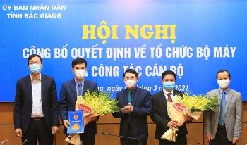 Bổ nhiệm nhân sự mới Hải Phòng, Bắc Giang, Nghệ An