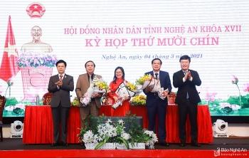 Bổ nhiệm nhân sự, lãnh đạo mới Nghệ An, Quảng Bình, Cà Mau