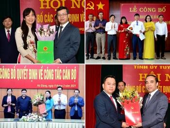 Hà Giang, Tuyên Quang, Phú Yên bổ nhiệm lãnh đạo mới