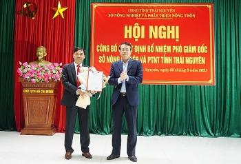 Bổ nhiệm lãnh đạo mới Hòa Bình, Thái Nguyên, Quảng Ngãi