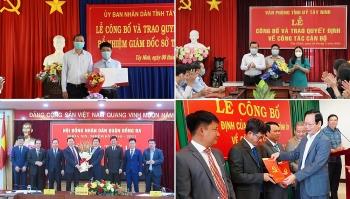 Hà Nội, Đắk Nông, Tây Ninh bổ nhiệm nhân sự, lãnh đạo mới