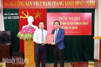 Ninh Bình, Đồng Tháp, Khánh Hòa bổ nhiệm lãnh đạo mới