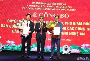 Bổ nhiệm lãnh đạo mới Nghệ An, Cà Mau, Khánh Hòa