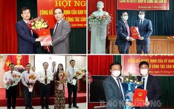 Tuyên Quang, Hải Dương và Hậu Giang bổ nhiệm hàng loạt lãnh đạo mới