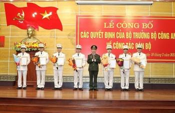 Tin bổ nhiệm lãnh đạo mới Bộ Công an, Bộ Y tế, BHXH Việt Nam