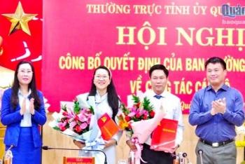 Tin bổ nhiệm lãnh đạo mới tại Lạng Sơn, Quảng Ngãi và Sóc Trăng