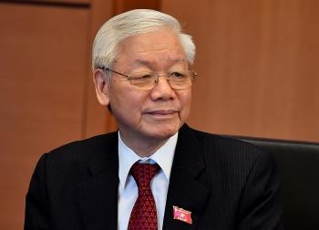 Quốc hội nhất trí miễn nhiệm Chủ tịch nước Nguyễn Phú Trọng