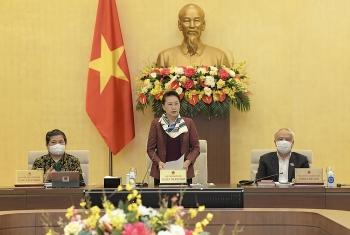 UBTVQH cho ý kiến về công tác nhân sự để trình Quốc hội