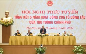 Tổ công tác của Thủ tướng đã thực hiện 104 cuộc kiểm tra sau 5 năm hoạt động