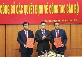 Bắc Ninh, Vĩnh Phúc, Hà Giang bổ nhiệm nhân sự, lãnh đạo mới