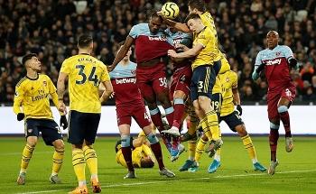 Link trực tiếp West Ham vs Arsenal: Xem online, nhận định tỷ số, thành tích đối đầu