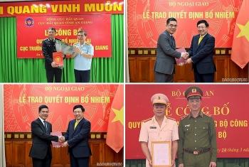 Nhân sự mới Bộ Công an, Bộ Ngoại giao, Bộ Tài chính
