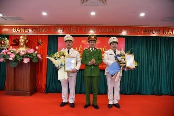 Bộ Công an bổ nhiệm 2 tân Cục trưởng