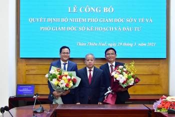 TP.HCM, Thừa Thiên - Huế và Khánh Hòa bổ nhiệm nhân sự lãnh đạo mới