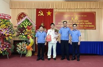 Tin nhân sự, lãnh đạo mới Bộ Tài chính, Bộ Y tế, Viện KSND tối cao