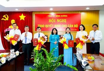 Nam Định, Khánh Hòa, Bình Dương điều động, bổ nhiệm nhân sự mới