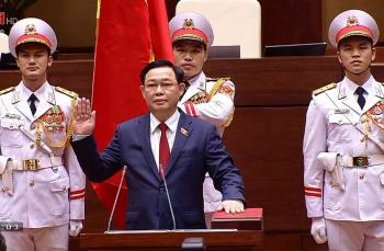Ông Vương Đình Huệ được bầu làm Chủ tịch Quốc hội khóa XIV
